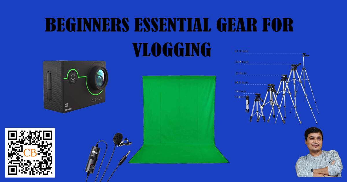 Beginners Essential Gear for Vlogging